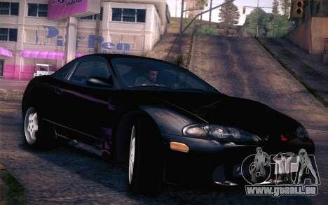 Mitsubishi Eclipse Fast and Furious für GTA San Andreas