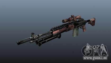 Fusil de sniper M21 Mk14 v5 pour GTA 4