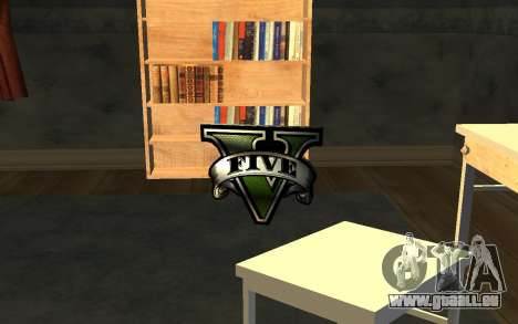 GTA V Save Icon pour GTA San Andreas quatrième écran