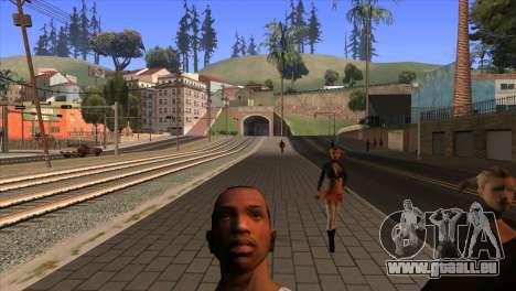 La caméra dans GTA V pour GTA San Andreas troisième écran