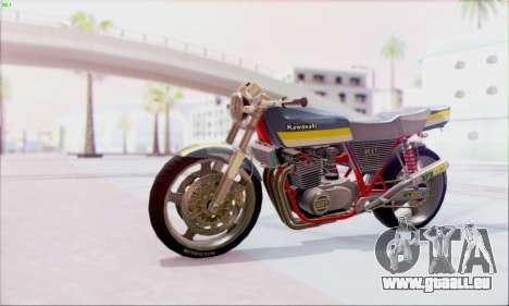 Kawasaki Z-400FX Custom pour GTA San Andreas
