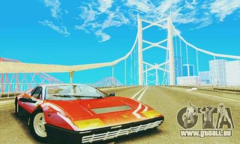 Ferrari 512 BB pour GTA San Andreas laissé vue