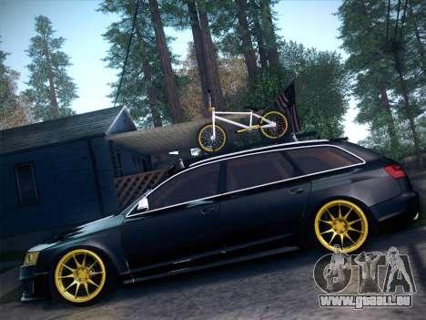 Audi Avant RS6 LowStance pour GTA San Andreas vue de droite