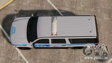 GTA V Declasse Police Ranger 3500PE [ELS] pour GTA 4 est un droit