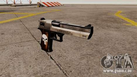 Desert Eagle halbautomatische Pistole Punisher für GTA 4