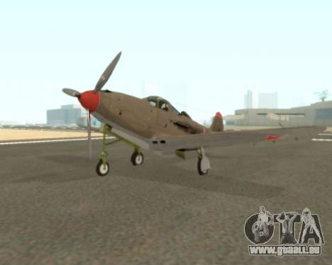 Aircobra P-39N pour GTA San Andreas