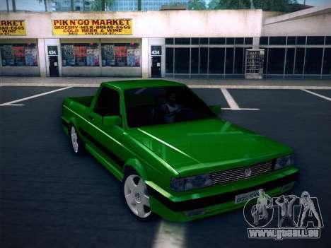 Volkswagen Saveiro 1994 pour GTA San Andreas laissé vue
