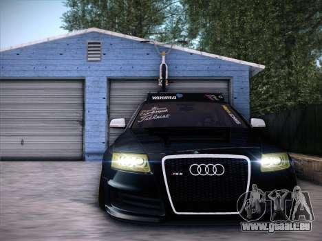Audi Avant RS6 LowStance pour GTA San Andreas laissé vue