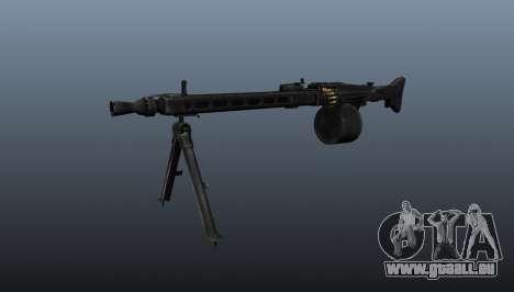 Usage général Mitrailleuse MG-3 pour GTA 4