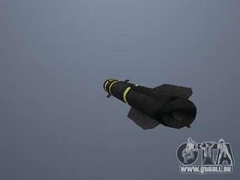 Die neue Rakete für GTA San Andreas dritten Screenshot