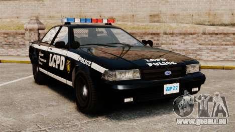 GTA V Vapid Police Cruiser [ELS] pour GTA 4