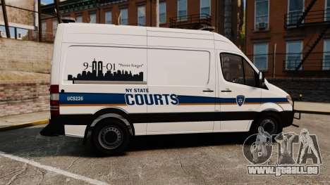Mercedes-Benz Sprinter 2500 Prisoner Transport pour GTA 4 est une gauche