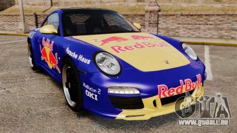 Porsche 911 Sport Classic 2010 Red Bull für GTA 4