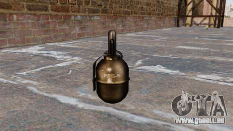 Hand grenade RGD-5 v2.0 pour GTA 4