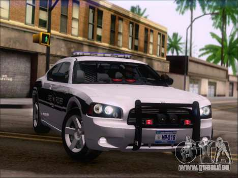 Dodge Charger San Andreas State Trooper für GTA San Andreas Räder