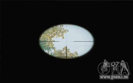 Enhanced Sniper Scope v1.1 pour GTA San Andreas deuxième écran