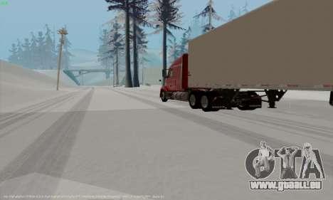 Volvo VNL 630 pour GTA San Andreas vue de droite
