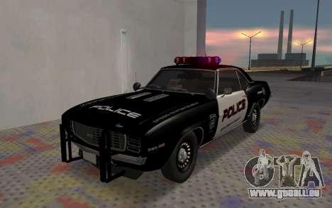 Chevrolet Camaro SS Police für GTA San Andreas