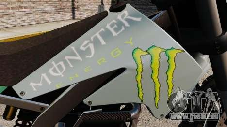 Sanchez Monster Energy für GTA 4 rechte Ansicht