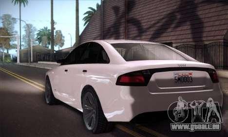 GTA V Tailgater für GTA San Andreas Rückansicht