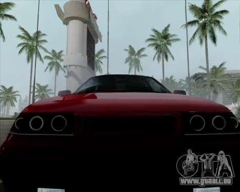 VAZ 2110 v2 pour GTA San Andreas vue de côté