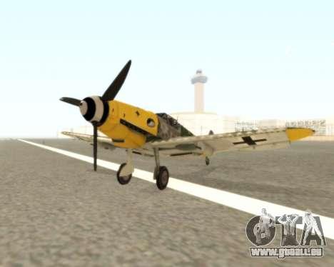 Bf-109 G6 v1.0 für GTA San Andreas