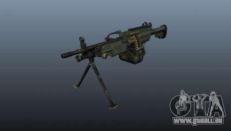 La mitrailleuse légère C9 pour GTA 4