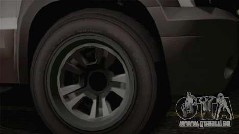 Granger civile de GTA 5 pour GTA San Andreas vue de droite