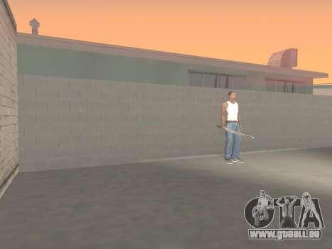 CSO Katana pour GTA San Andreas sixième écran