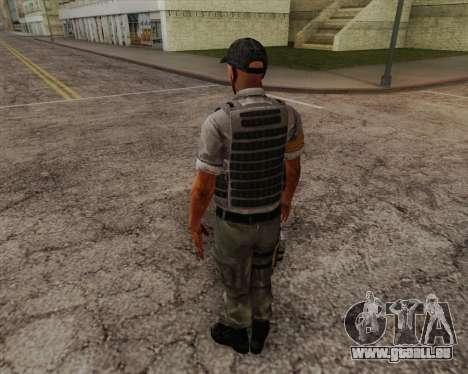 Mercenaire de Far Cry 3 pour GTA San Andreas deuxième écran