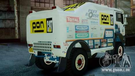 MAN TGA GINAF Dakar Race Truck pour GTA 4 est une gauche
