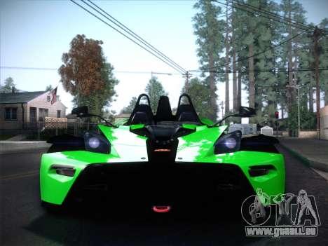 KTM Xbow R für GTA San Andreas rechten Ansicht
