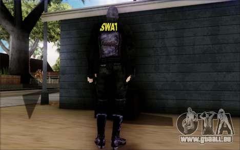 SWAT de Postal 2 pour GTA San Andreas troisième écran