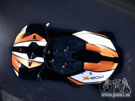KTM Xbow R für GTA San Andreas linke Ansicht