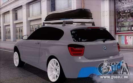 BMW M135i für GTA San Andreas linke Ansicht