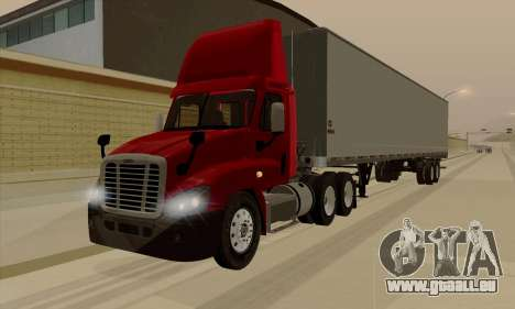 Freghtliner Cascadia Daycab 6x4 pour GTA San Andreas