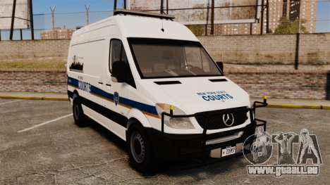 Mercedes-Benz Sprinter 2500 Prisoner Transport pour GTA 4