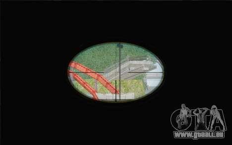 Enhanced Sniper Scope v1.1 pour GTA San Andreas troisième écran
