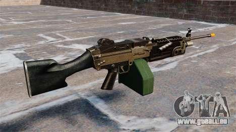 Die M249 Maschinengewehr Airsoft für GTA 4 Sekunden Bildschirm