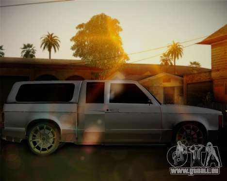 Isuzu KB pour GTA San Andreas laissé vue