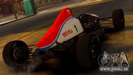 Formula Ford 1600 v1.0 für GTA 4 linke Ansicht