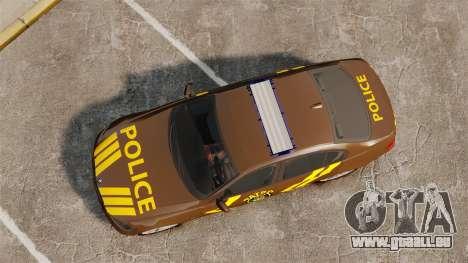 BMW 350i Indonesia Police v2 [ELS] pour GTA 4 est un droit