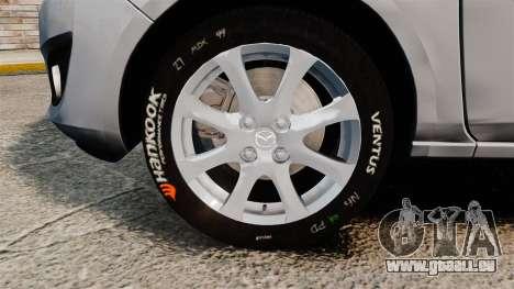 Mazda 2 für GTA 4 Rückansicht