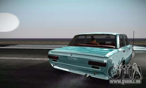 VAZ 2101 Resto pour GTA San Andreas vue arrière