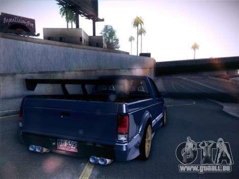 Mitsubishi Cyclone pour GTA San Andreas sur la vue arrière gauche