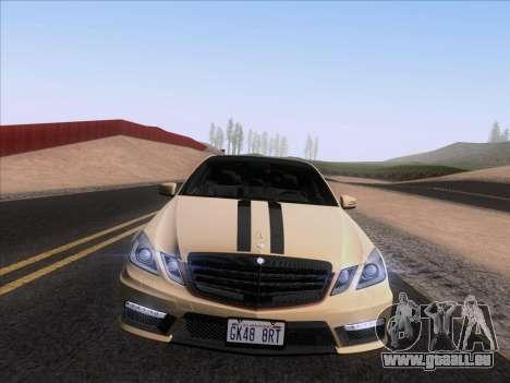 Mercedes-Benz E63 AMG 2011 Special Edition pour GTA San Andreas vue de droite