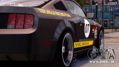 Shelby Terlingua Mustang für GTA 4 Rückansicht