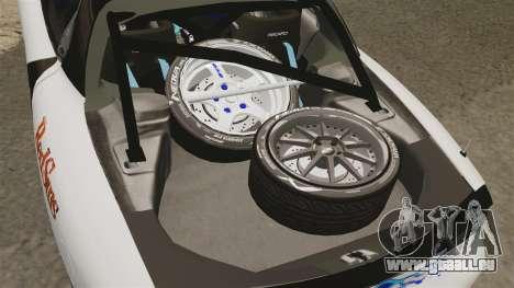 Mazda RX-7 pour GTA 4 est une vue de l'intérieur