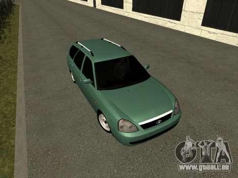 VAZ-2171 für GTA San Andreas Rückansicht