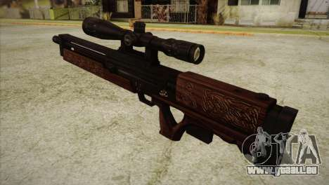 Walther WA2000 pour GTA San Andreas deuxième écran